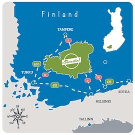 Map of Häme