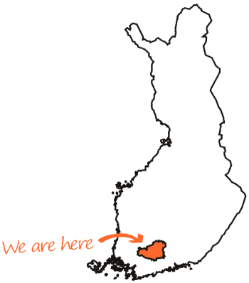 DigiTrail - Suomi kartta