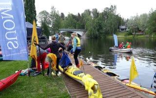 Janakkala Lakeland menolta, canoeing.