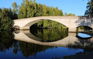 Hattula - Mierolan silta, Mierola bridge.