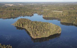 Hausjärvi, järvi, Lakeland.