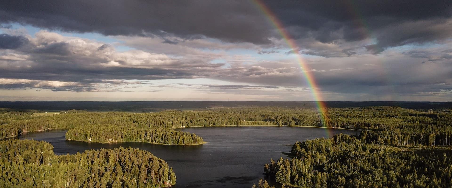 Hausjärvi sateenkaari, rainbow