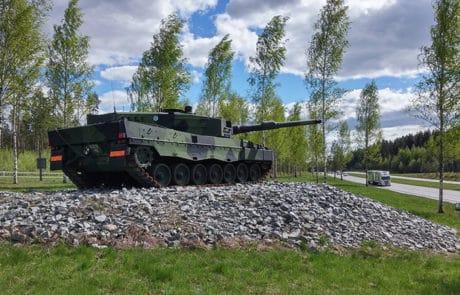 Hattula, Parola - tankki, tank.