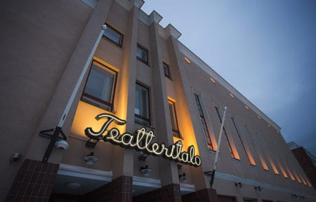 Forssa Teatteritalo, theater.