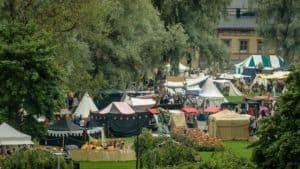 Keskiaikafestivaali_medievalfestival_tents