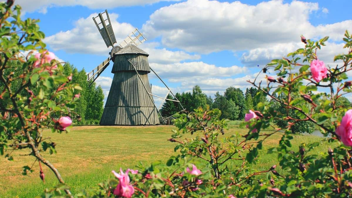 Humppila mylly windmill.