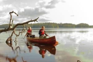 Erärenki_kanootti_melonta_canoeing