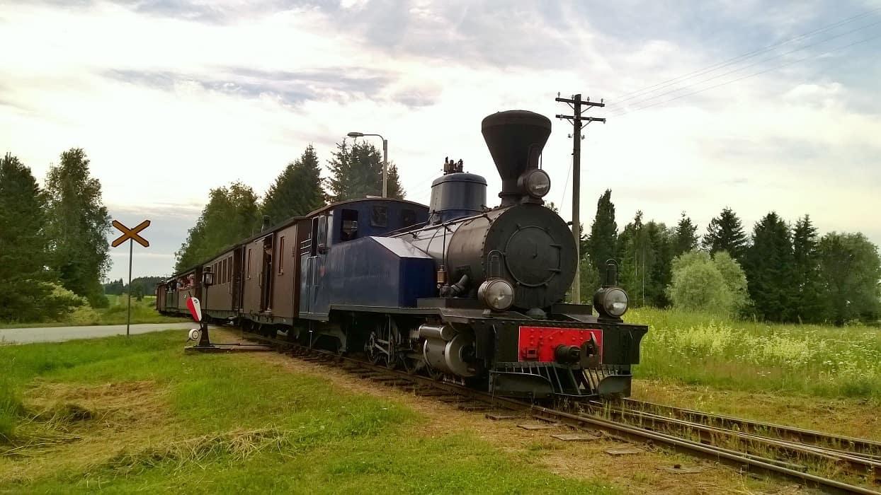 Jokioinen_Joikoisten_museorautatie_höyryjuna