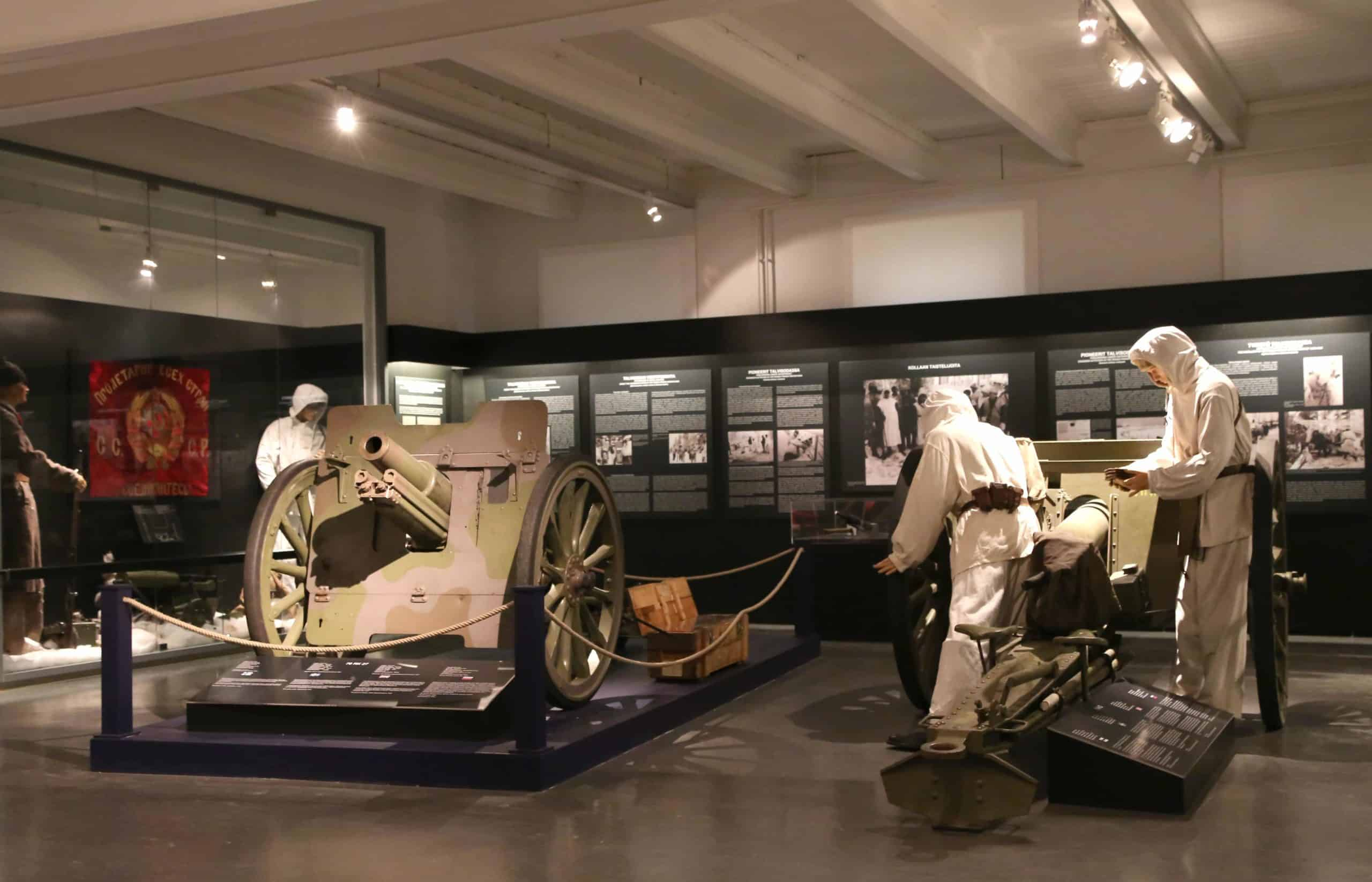 Museo Militaria tykistö