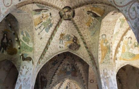 Keskiaikaiset-kirkot-Hattulan-Pyhan-Ristin-kirkko-Maalaukset