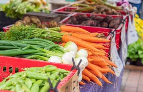 Loppi Market vegetables